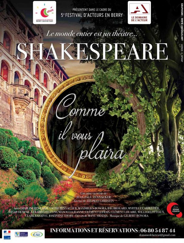 Affiche shakespeare berry