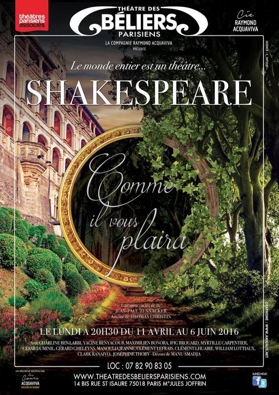 Affiche shakespeare web